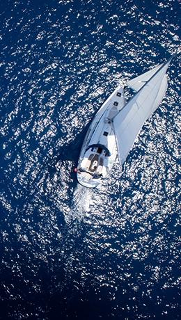 Watergames, Sejlads i sejlbåd